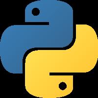 Python Logo (GPL v2) via http://commons.wikimedia.org/wiki/File:Python.svg
